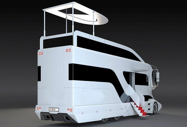 Arab Sheikhs Are Going Crazy For This 3 Million Motor Home