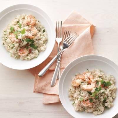 Shrimp and Herb Risotto Recipe - Delish.com