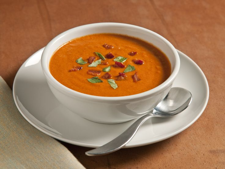Tomato bisque. We substituted in 1 can of diced tomatoes with chiles ...
