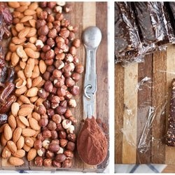 Homemade Chocolate Hazelnut Larabar | Paleo Recipes | Pinterest