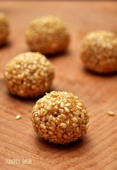 Raw Honey Date Sesame Balls Recipes — Dishmaps