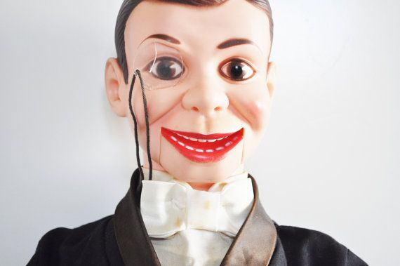 Charlie mccarthy ventriloquist doll made by by thewhitepepper