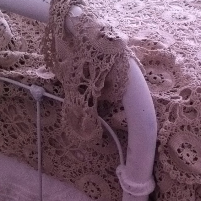 Hand crocheted bedspread Crocheted Bedspread Pinterest