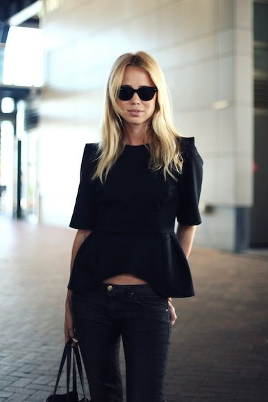 all black- Elin Kling  | www.grabyourbags.nl