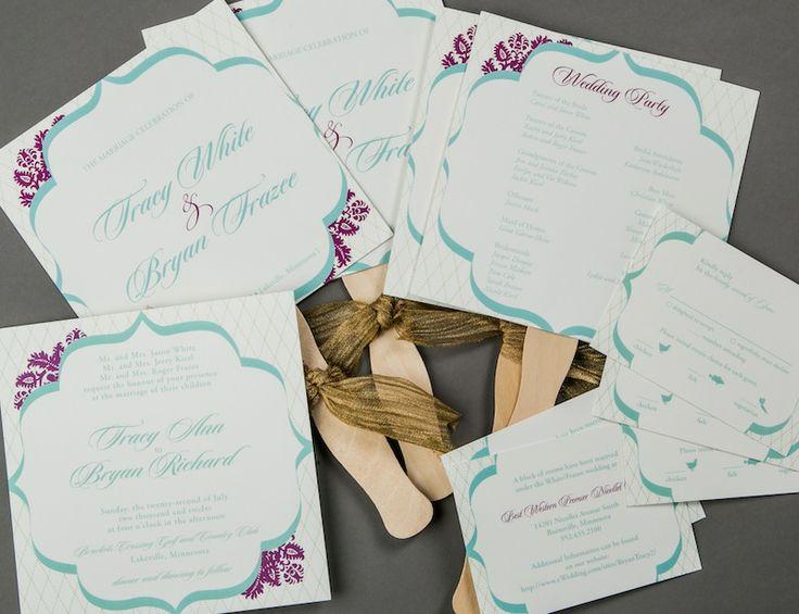 Custom Wedding Invitations with amazing invitation sample