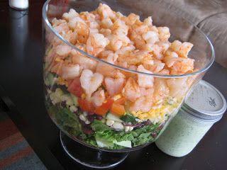 One Fine Day: Mexican Shrimp Cobb Salad | Salads | Pinterest