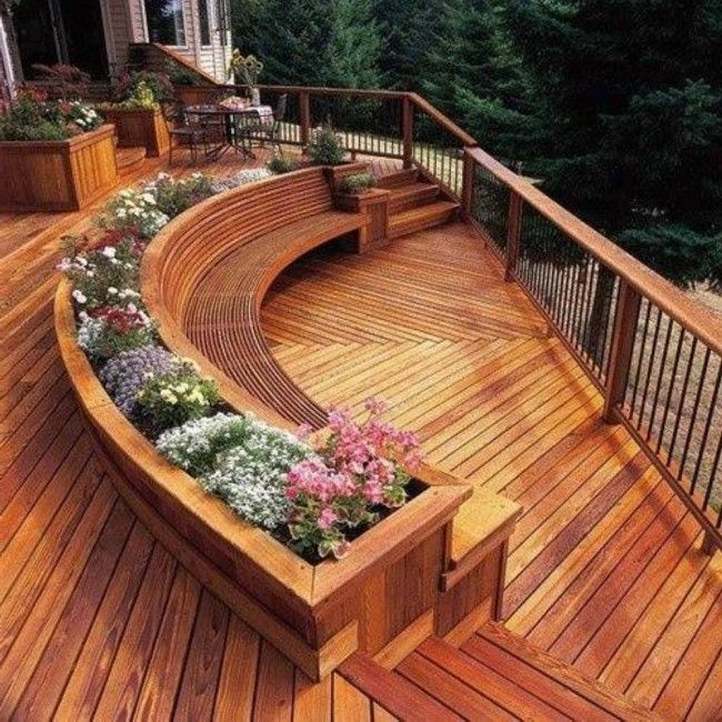 Backyard Ideas Deck And Patio : awesome patio and deck designs  In the YARD  Pinterest