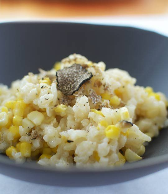 Why You Must Try Sweet Corn Risotto (Maybe Truffled) — Recipe Review