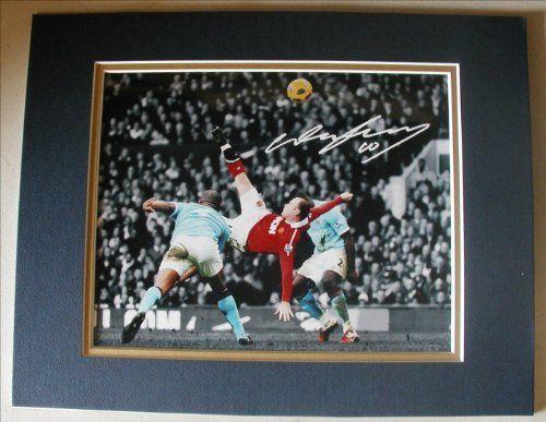 Wayne Rooney Double Kick Goal WAYNE ROONEY This photo shows Rooney s legendary overhead kick goal