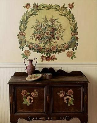 victorian tapestry wallpaper mural wallies floral wall