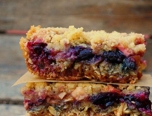 Apple Blueberry Crumb Bars   Recipes - Cookies, Bars, & Brownies   Pi ...