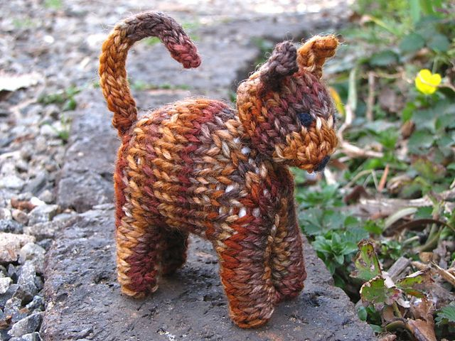 Kitty knitting pattern