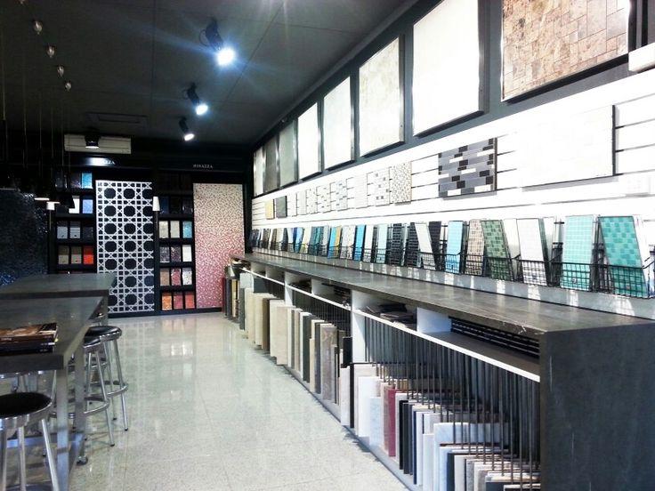 Pin by nguyen quyet on showroom shop pinterest - Interior design tiles showroom ...