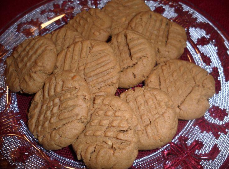 Flourless Peanut Butter Cookies | Yummies | Pinterest