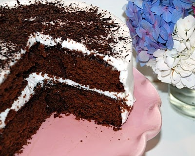 Versatile Vanilla Cake Goes Chocolate | Cakes | Pinterest