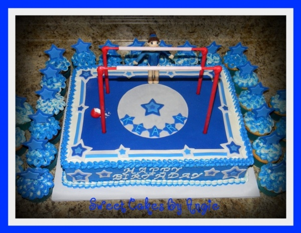 Cake Decorating Ideas Gymnastics : Gymnastics Cake Decorations Cake Ideas and Designs