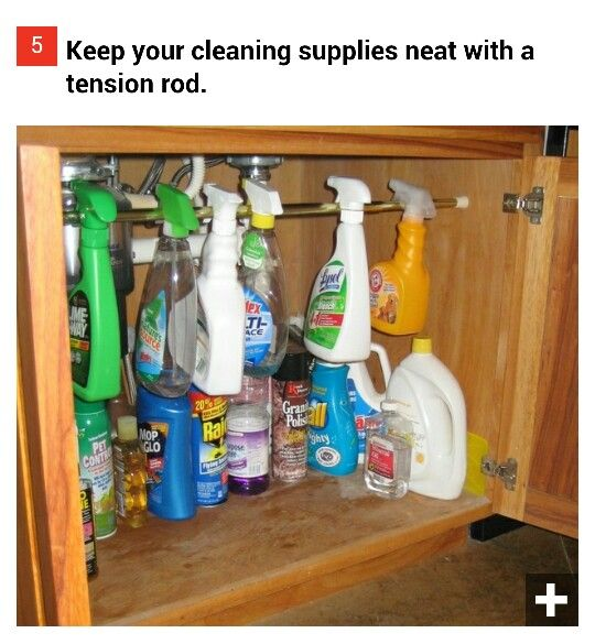 Organize cleaning supplies clean house household tips for Organize cleaning your house