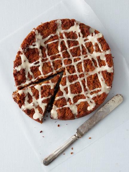Babycakes NYC - Gluten-Free Blueberry Crumb Cake