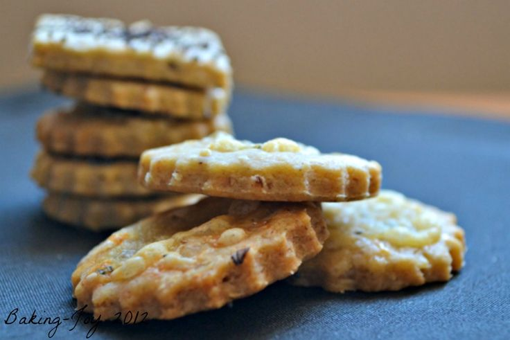Blue cheese and walnut biscuits | B is for Bread | Pinterest