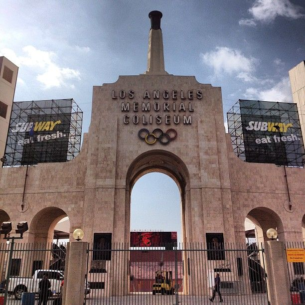 los angeles memorial coliseum 4th of july 2013