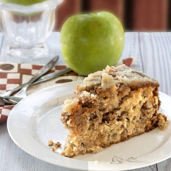 Apple Cake with Caramel Glaze | Food & Drink | Pinterest