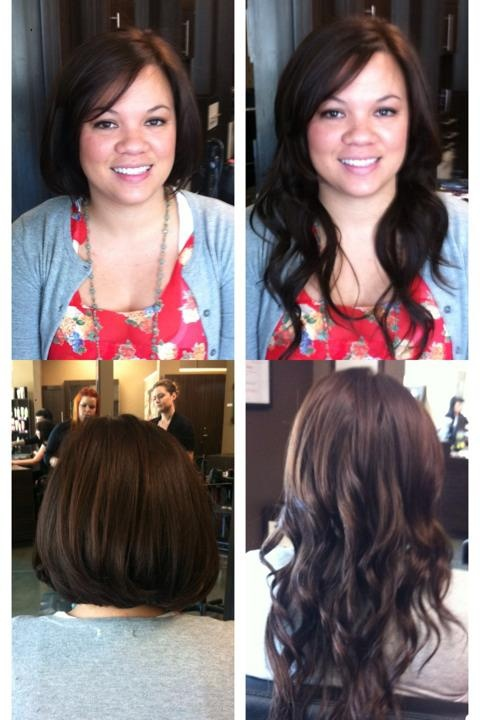 Non Sewn Beaded Weft Extensions Best Clip In Hair Extensions