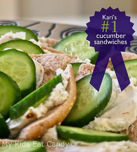 Cucumber sandwichKari's #1 Cucumber Sandwiches 1 8-pack Multi-grain ...