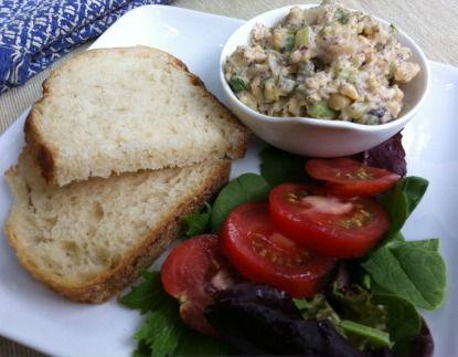 Meatless Monday: Tuna-Free Salad Sandwiches