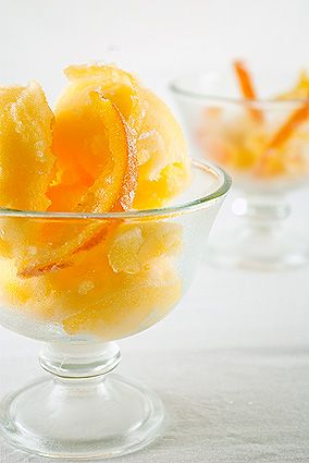 tangerine and grapefruit sorbet | Baking & Desserts | Pinterest