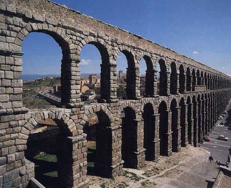 Acueducto Segovia  Lugares que me gustan.  Pinterest