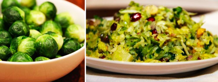 Shaved Brussel Sprouts Salad | Recipes | Pinterest