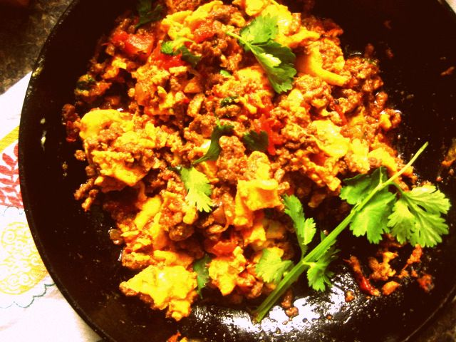 chorizo and eggs | feast | Pinterest