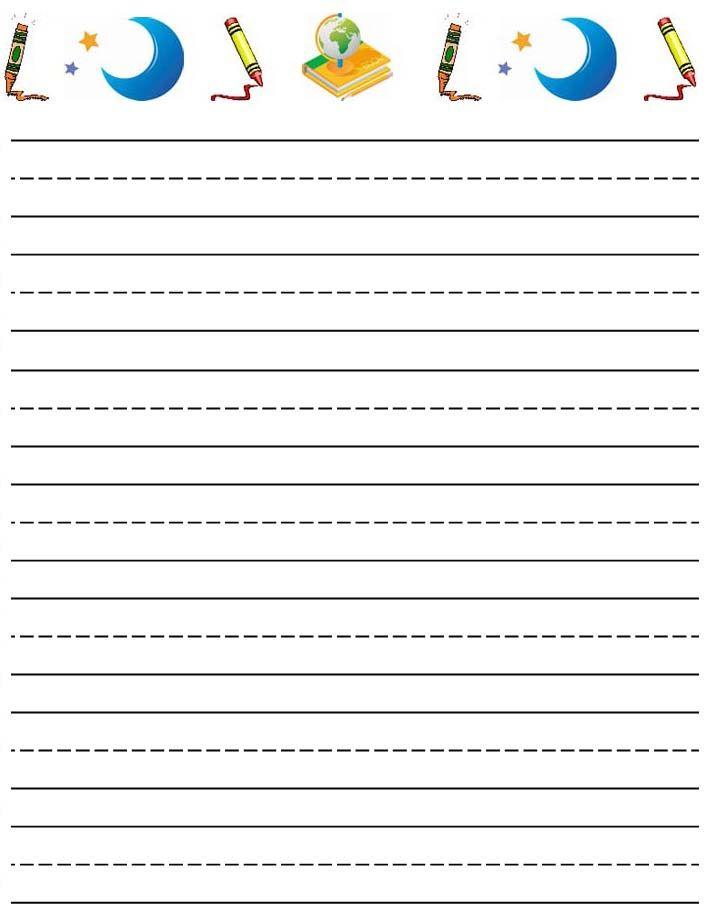 free writing paper template datariouruguay