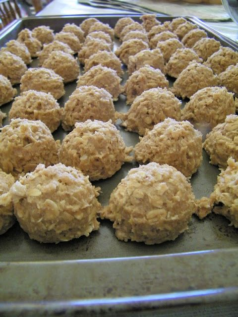 Toffee Oatmeal Cookies - with freezing instructions