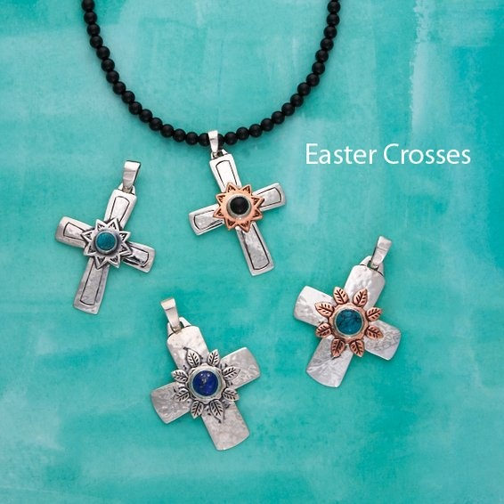Easter Crosses!  Love Jeep Collins...