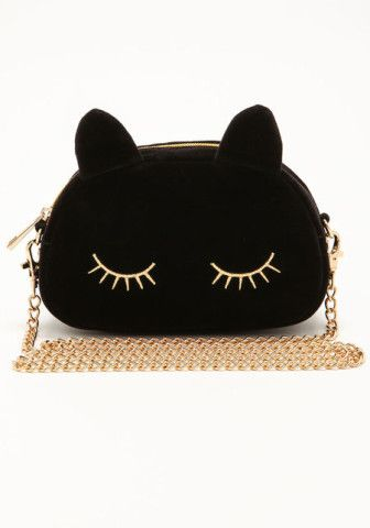 Midnight Black Cat Clutch - Love Culture