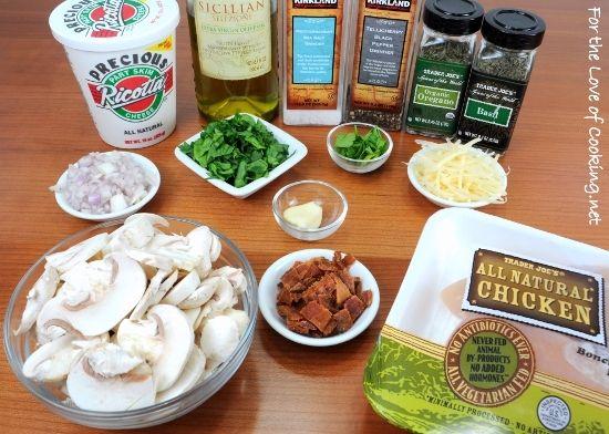 Ricotta Stuffed Chicken | Food and Drink | Pinterest