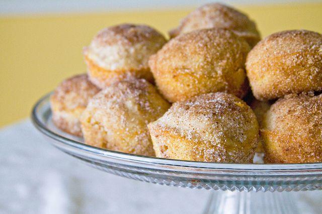 Doughnut Muffins | Breads/Bread Sticks/Muffins/Crusts | Pinterest