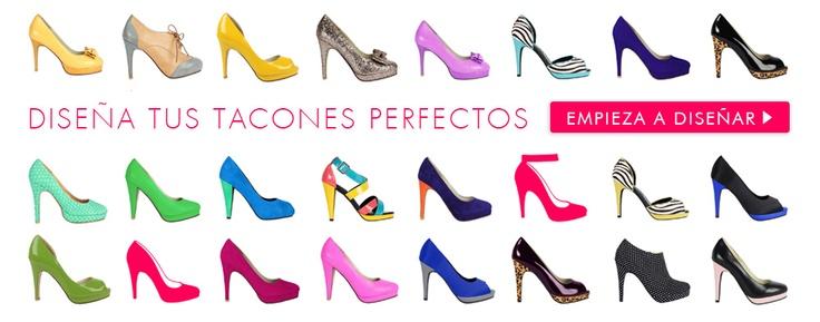 Diseña tus propios zapatos con Shoes of Prey // ya soy adicta a esto!!!