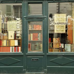 I really admire France in the way they think about books and The Lang Law to protect them and encourage more bookshops to open