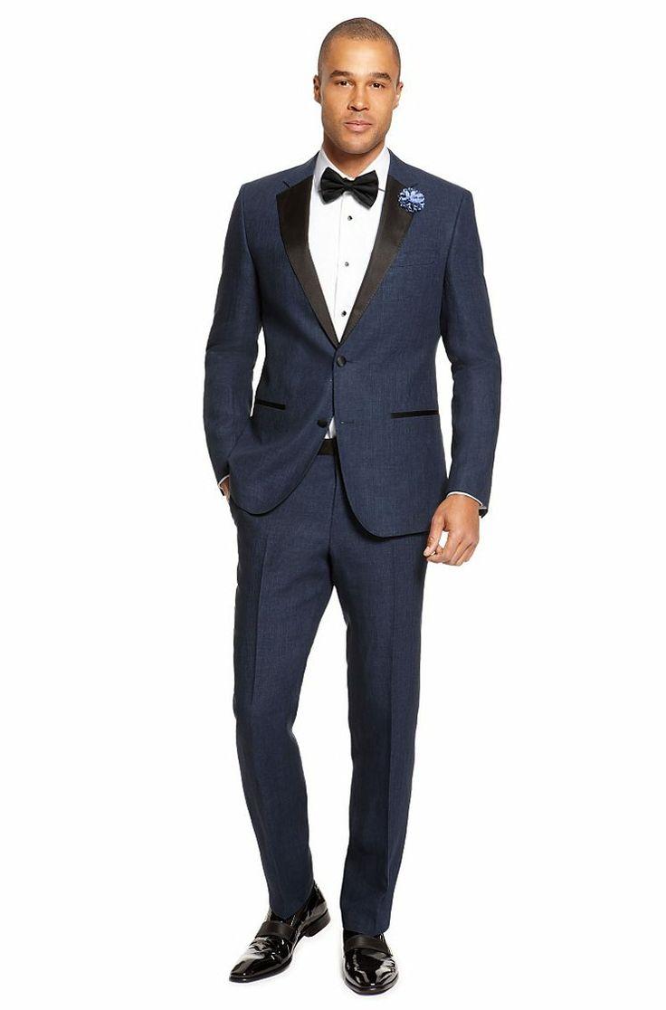 Hugo boss linen tuxedo formal wear pinterest for Hugo boss formal shirts