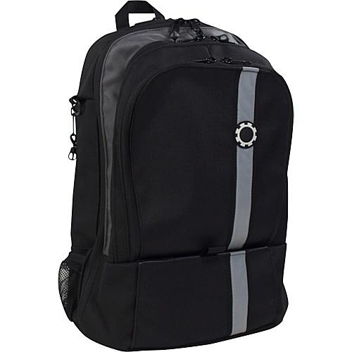 dadgear backpack diaper bag black retro stripe. Black Bedroom Furniture Sets. Home Design Ideas