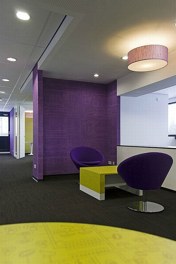 Office design office interiors pinterest for Office design colour
