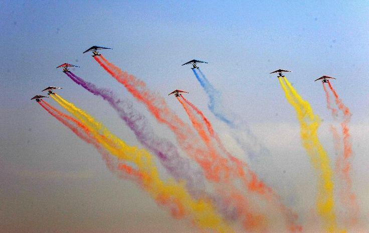 Air Show in Nayang, China by Xinhua/Zhu Xian