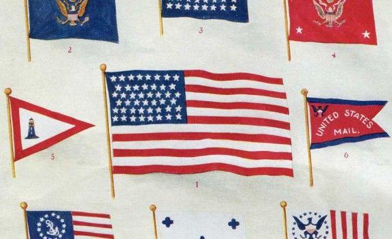 vintage flags