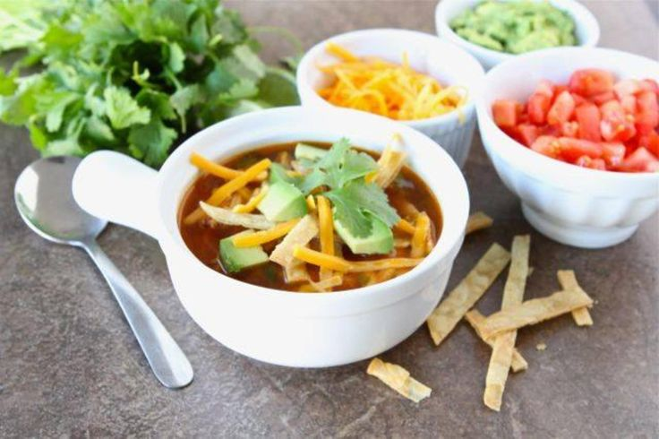 Chicken Fajita Soup | Ultimate savoury | Pinterest