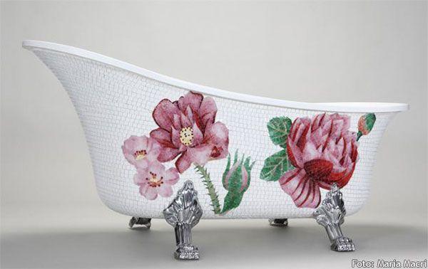 Blooming Bathtub by Mosaic Sweden