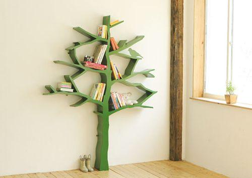Whimsical Tree Bookshelf