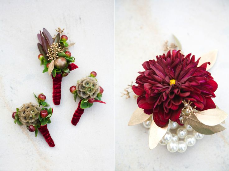 More Like This Boutonnieres Burgundy And Wedding Flowers