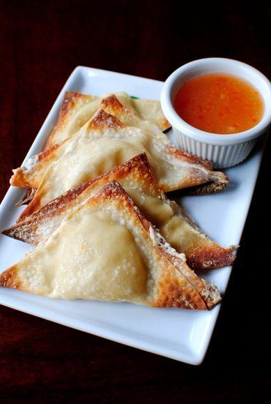 Baked Crab Rangoon Recipe | Iowa Girl Eats http://iowagirleats.com ...